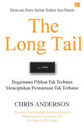 indonesian cover - long tail by chris anderson