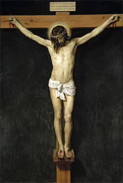 Crucifixion, by Velazquez
